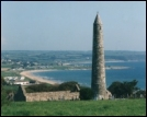 Ardmore Round Tower And Beach